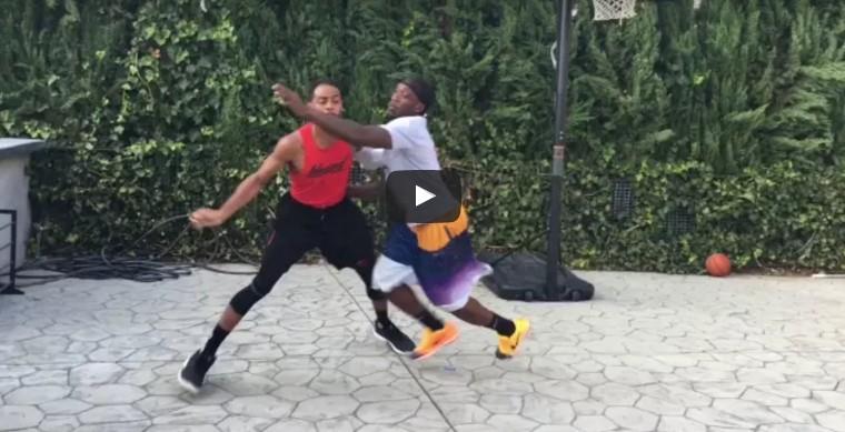 Parodie : Brandon Armstrong s'attaque à Damian Lillard et CJ McCollum
