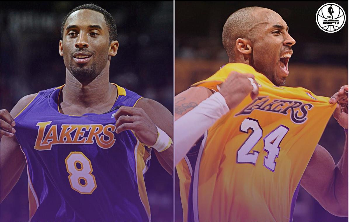 Ce que symbolisent le 8 et le 24 pour Kobe Bryant