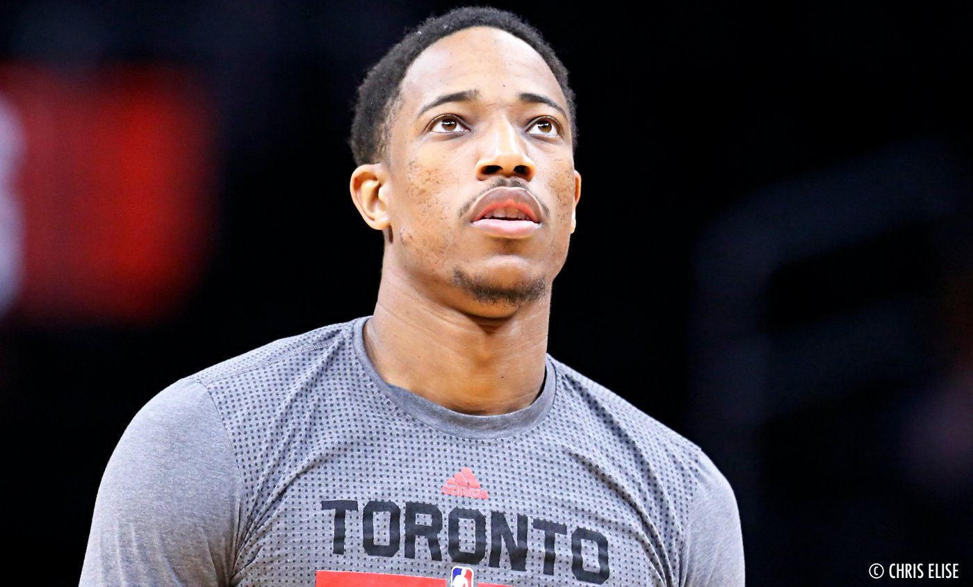 DeMar DeRozan furax du classement de Sports Illustrated