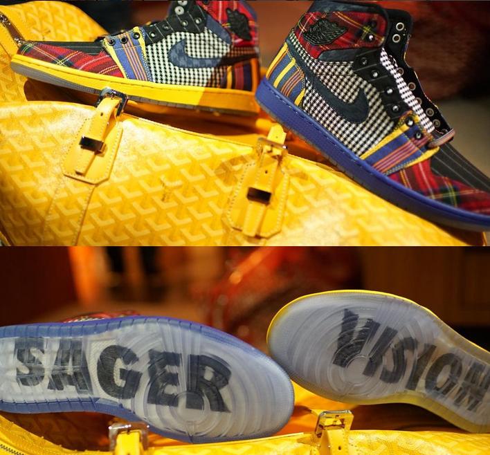 DJ Khaled dévoile des Jordan 1 pour rendre hommage à Craig Sager