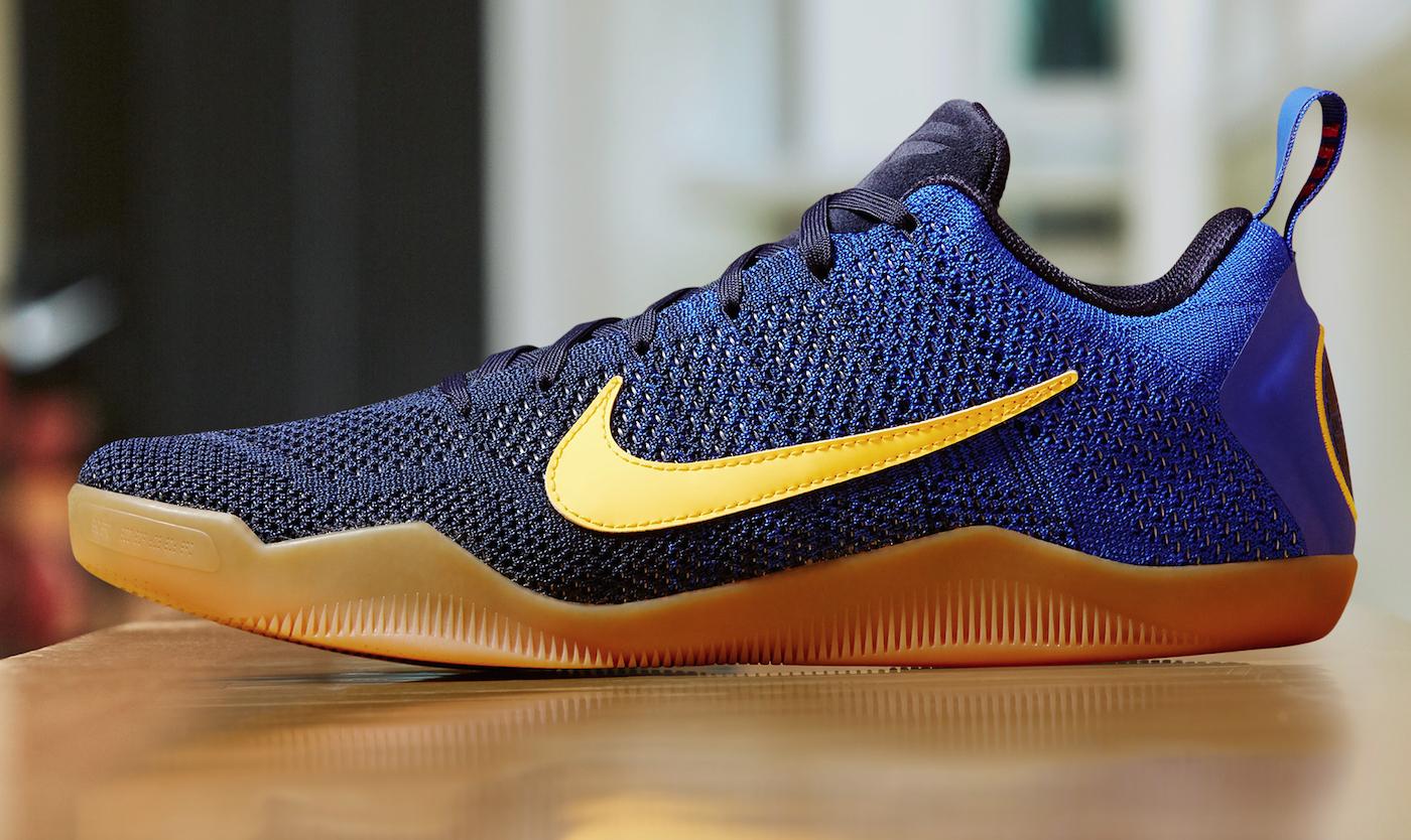 Kobe 11 Mambacurial : la sneaker de Kobe inspirée du FC Barcelone