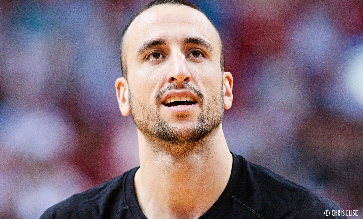 """Manu Ginobili : """"J'ai donné mon testicule droit pour les Spurs"""""""