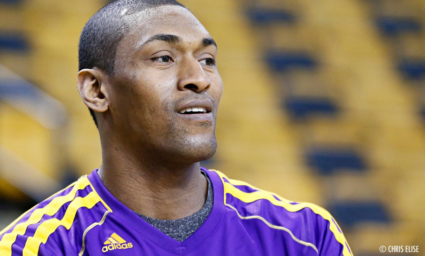 Metta World Peace prendra encore un chèque aux Lakers