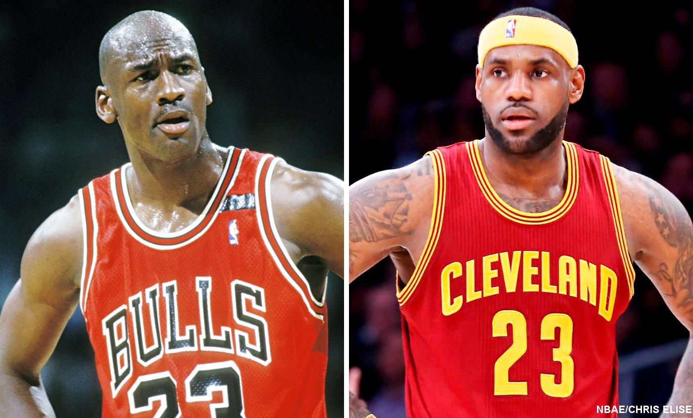 """LeBron James : """"Dépasser Michael Jordan ? Un objectif personnel"""""""
