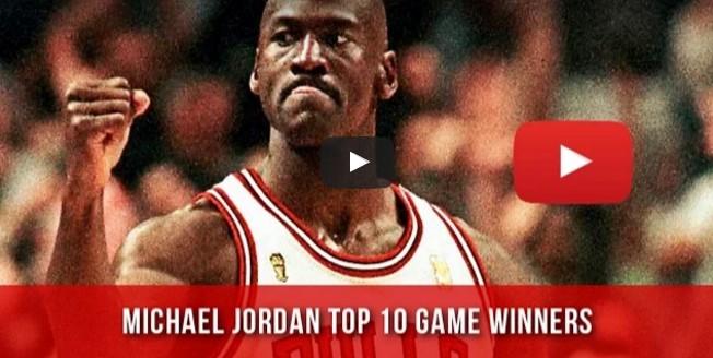 Top 10 : Les dix plus beaux Game Winners de Michael Jordan