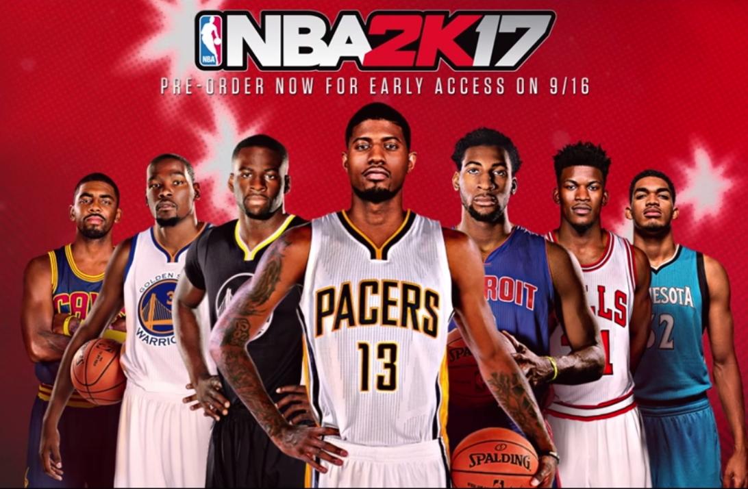 NBA 2K17 va récompenser les joueurs qui se dépensent le plus !