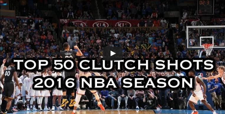 Top 50 : les shoots les plus clutchs de la saison 2015-2016