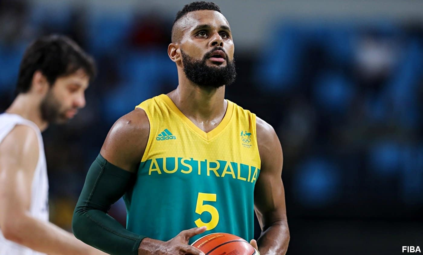 Patty Mills Australie