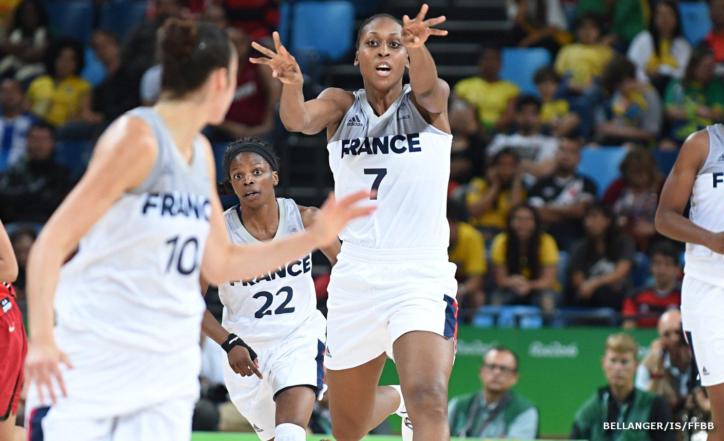 Sandrine Gruda équipe de France