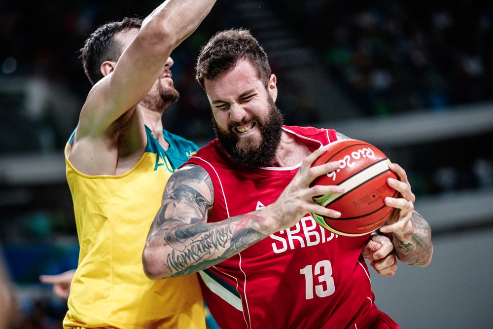 La Serbie torpille l'Australie et accède à la finale Olympique