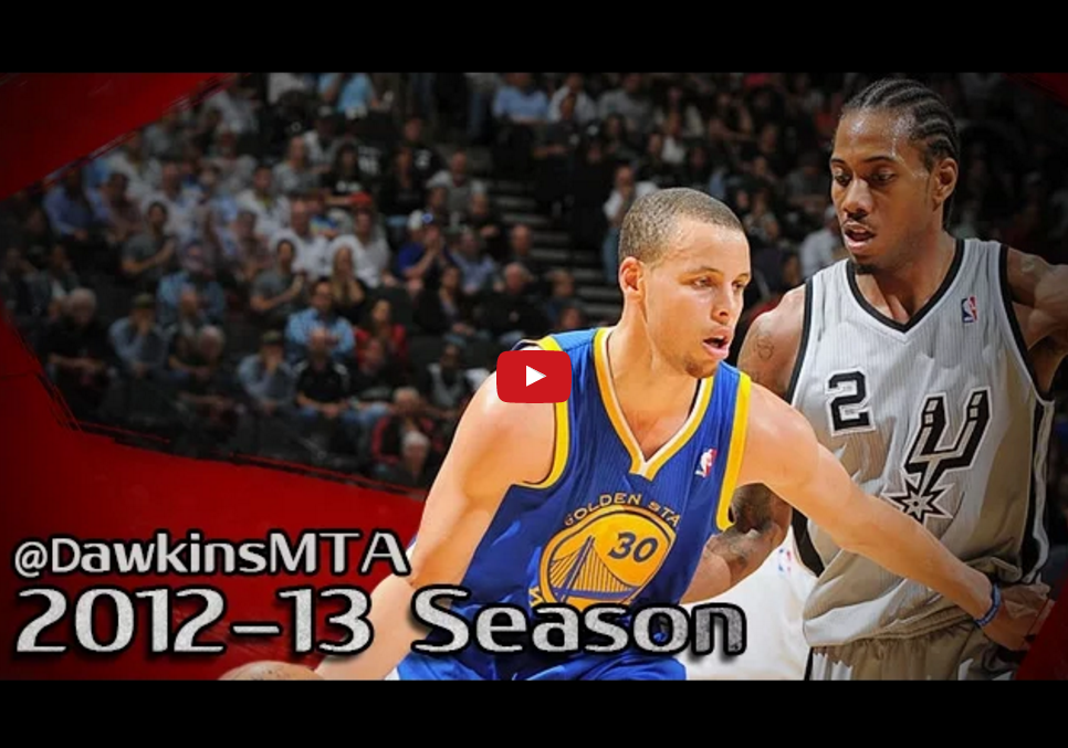 Rétro 2013 : Le duel Stephen Curry-Kawhi Leonard en playoffs