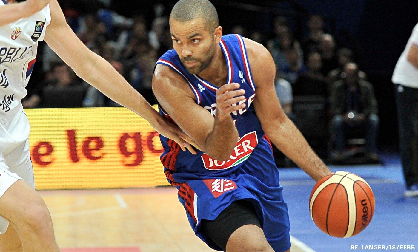 Tony Parker Bleus équipe de France