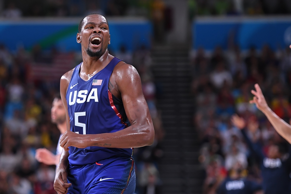 Kevin Durant injouable, Team USA décroche l'Or Olympique !