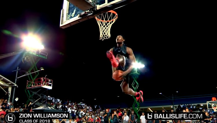 Explosif Zion Williamson Enflamme L39Elite 24 Dunk Contest