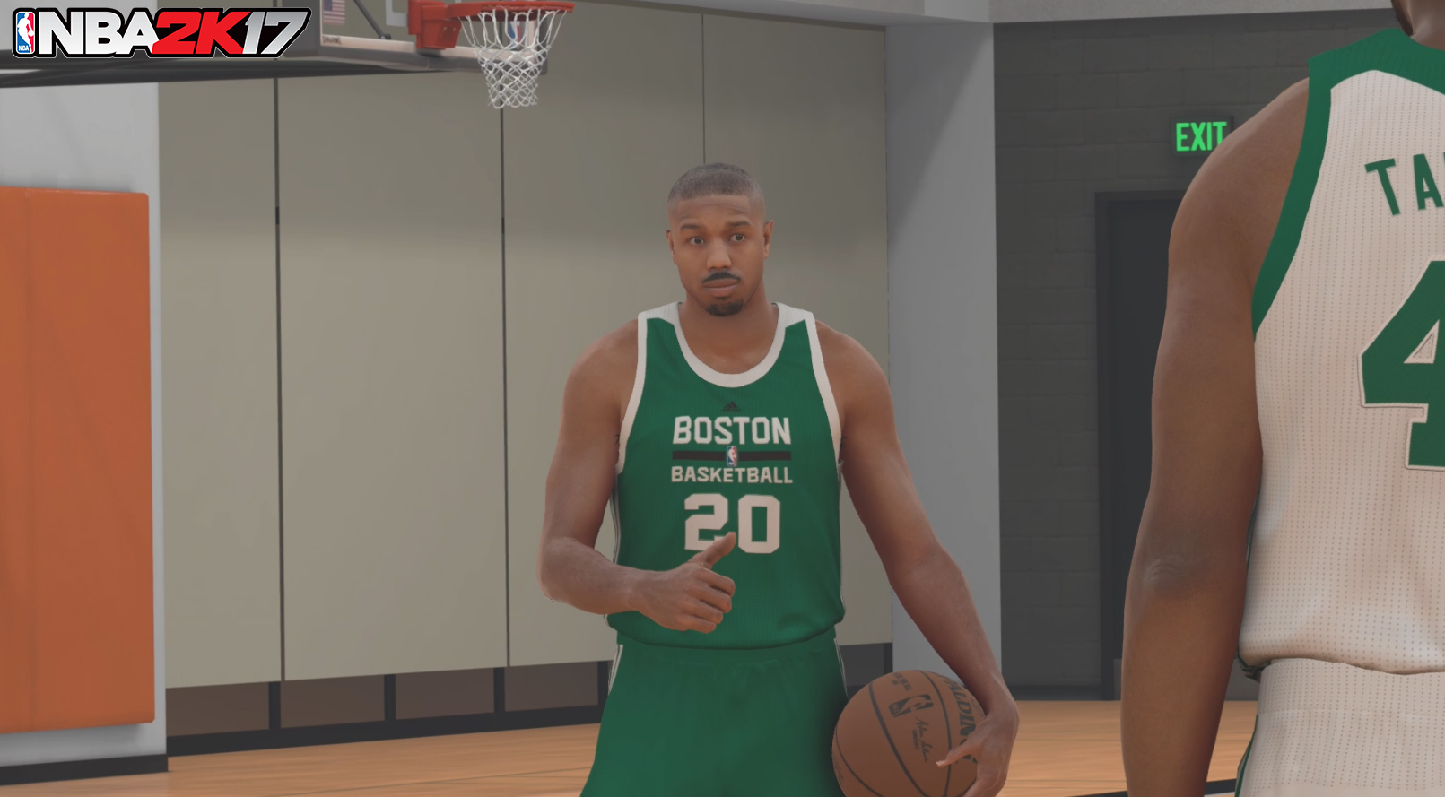 NBA 2K17 : l'acteur Michael B. Jordan en star du mode