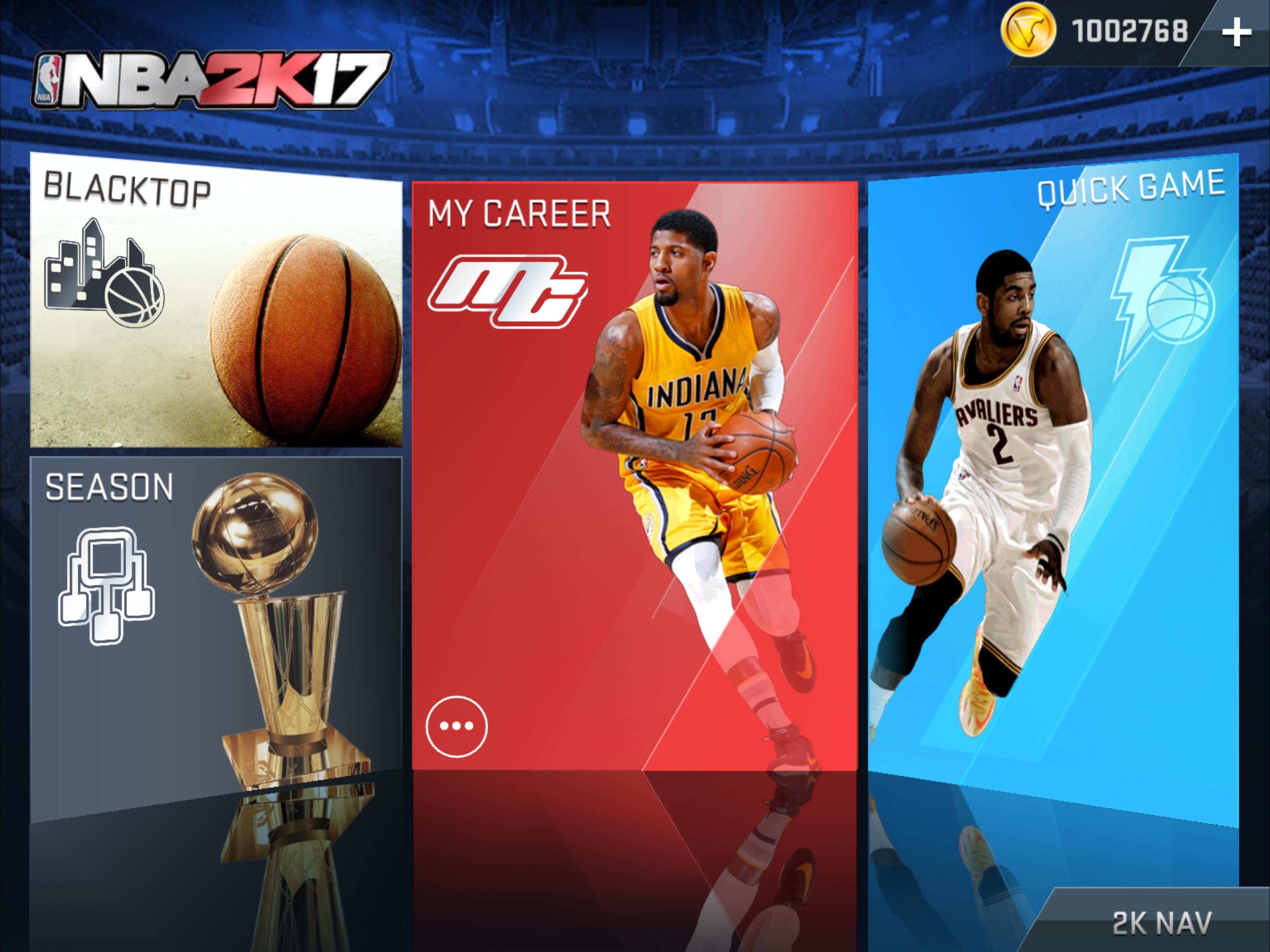 NBA 2K17 est disponible sur mobiles et tablettes