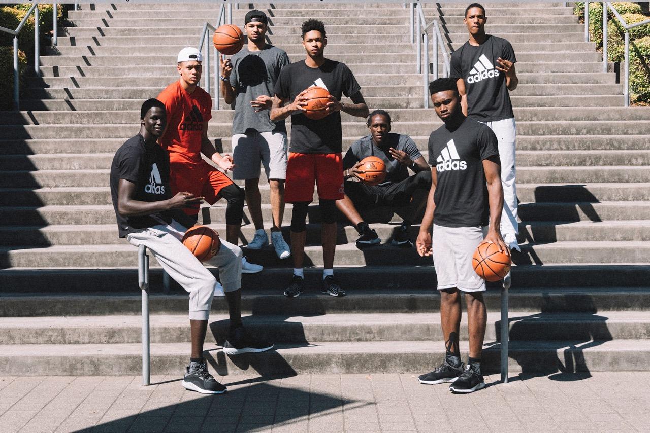 13 rookies de la classe 2016 roulent pour Adidas