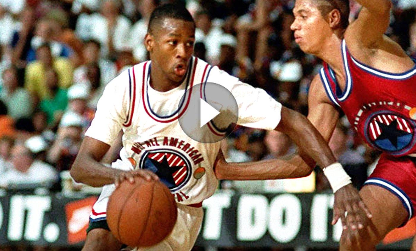 Rare : Quand Iverson et Kevin Garnett s'affrontaient au lycée