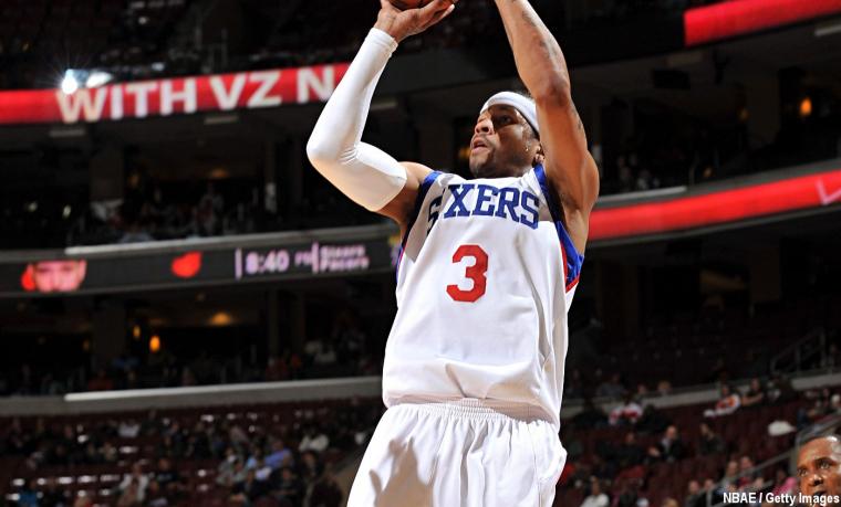 Allen Iverson était plus dur à défendre que Kobe Bryant, selon Arenas