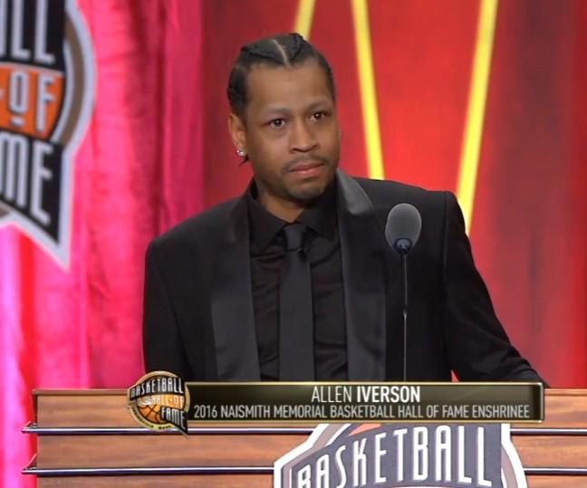 "Allen Iverson : ""Michael Jordan, mon idole, mon héros"""