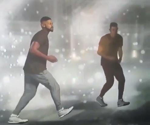 Une nouvelle célébration renversante dans NBA 2K17
