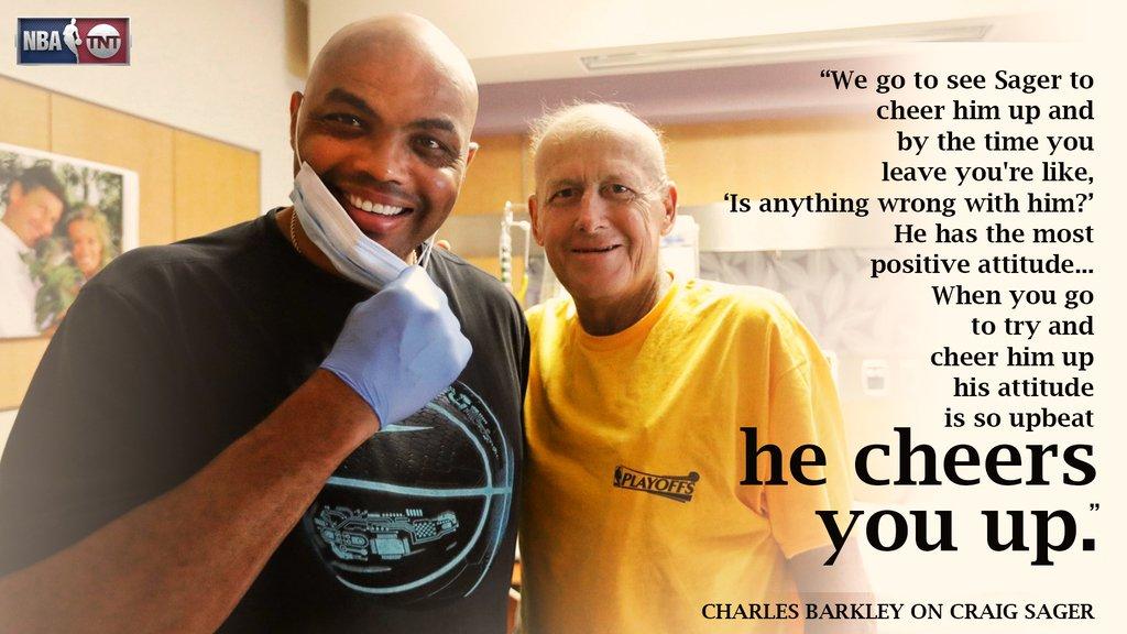 Charles Barkley a passé une petite visite à Craig Sager