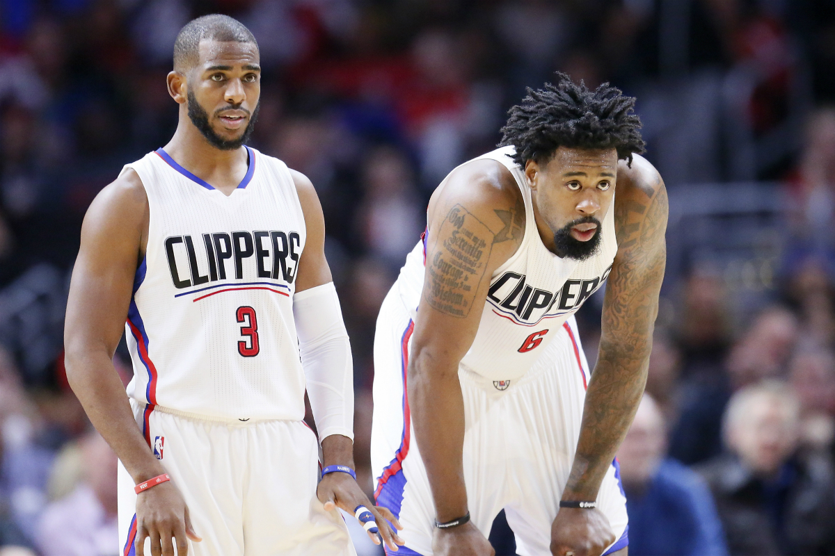 Chris Paul DeAndre Jordan