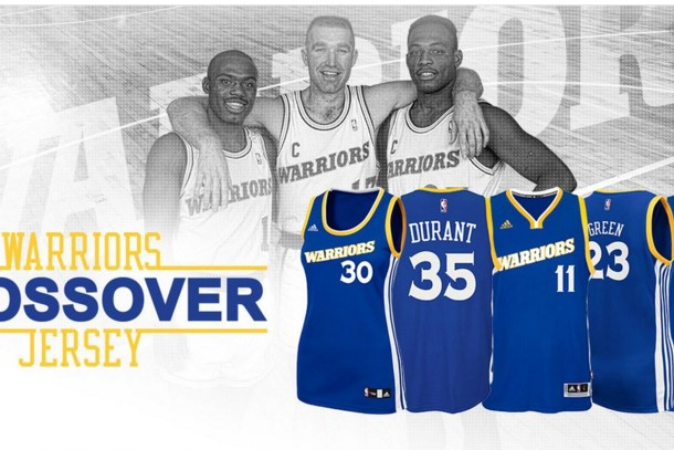 "Un maillot ""Run TMC"" pour les Golden State Warriors"