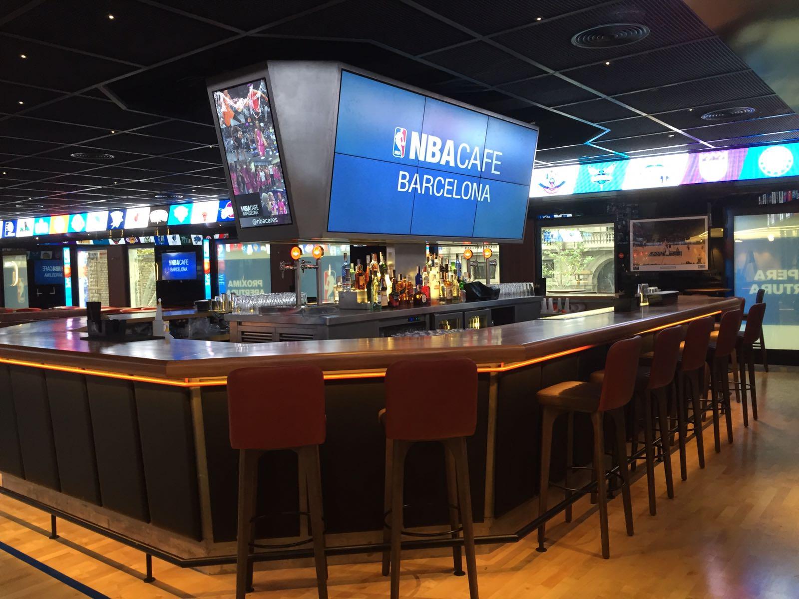 Un NBA café ouvre ses portes à Barcelone