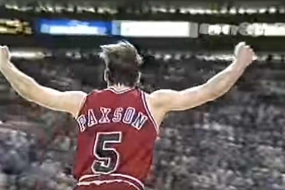 GOD : Le shoot culte de John Paxson dans le game 6 des Finales 93