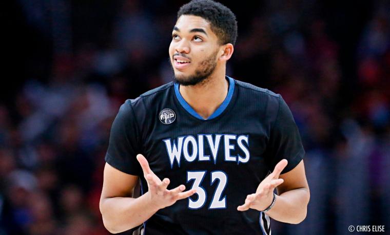 Karl-Anthony Towns veut gagner pour enfin être dans une All-NBA team