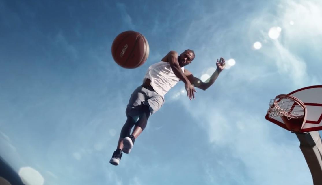 Kawhi Leonard, star de la dernière publicité Jordan Brand