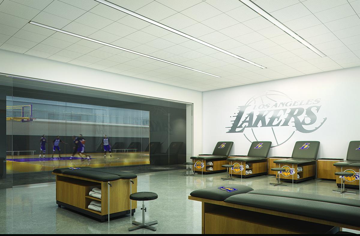 Grandiose : les nouvelles installations d'entraînement des Los Angeles Lakers
