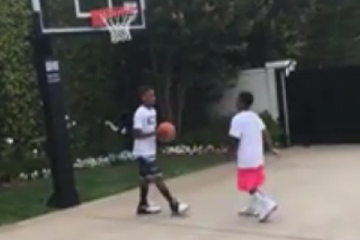 Quand LeBron James commente un duel entre ses deux fils