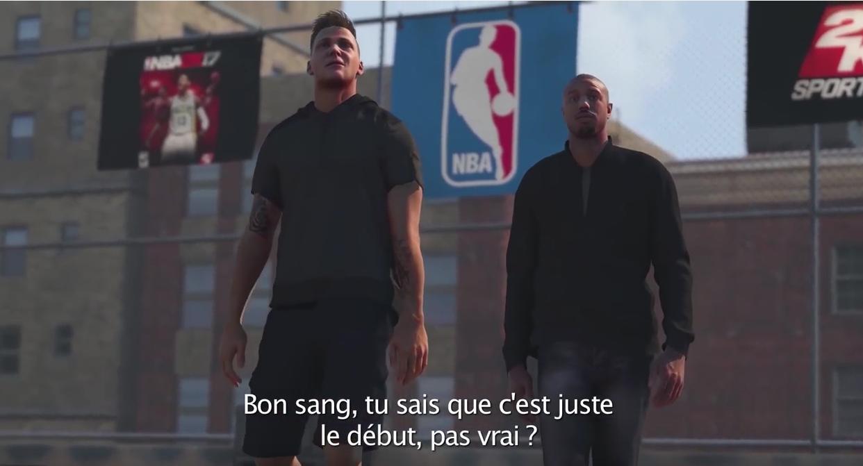 NBA 2K17 : le trailer du mode carrière dévoilé !