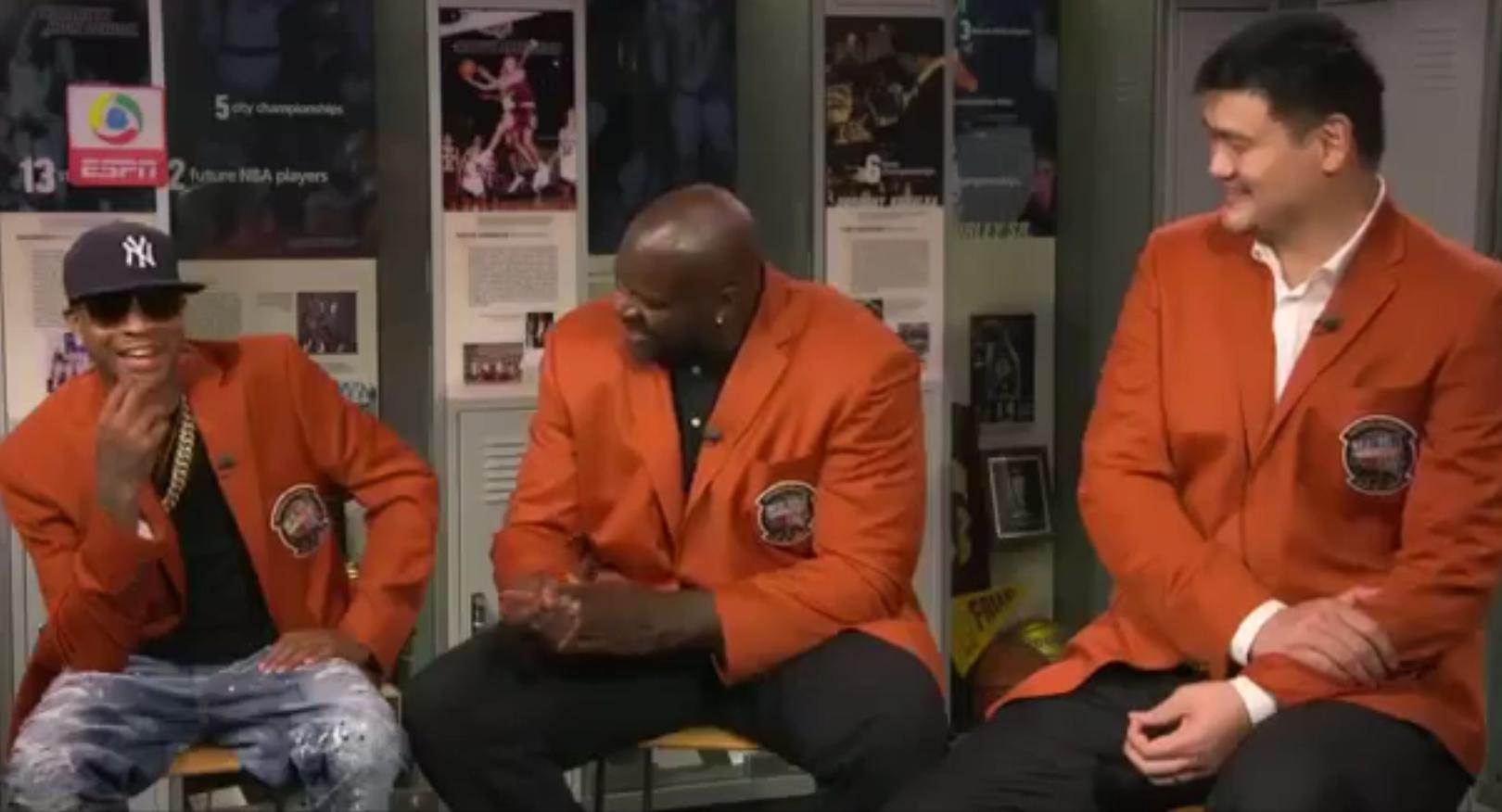 Yao Ming, Allen Iverson et Shaq ont changé la perception du basket
