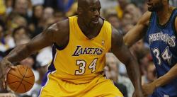 Les stats hallucinantes de Shaq en finales lors du «Three Peat» des Lakers