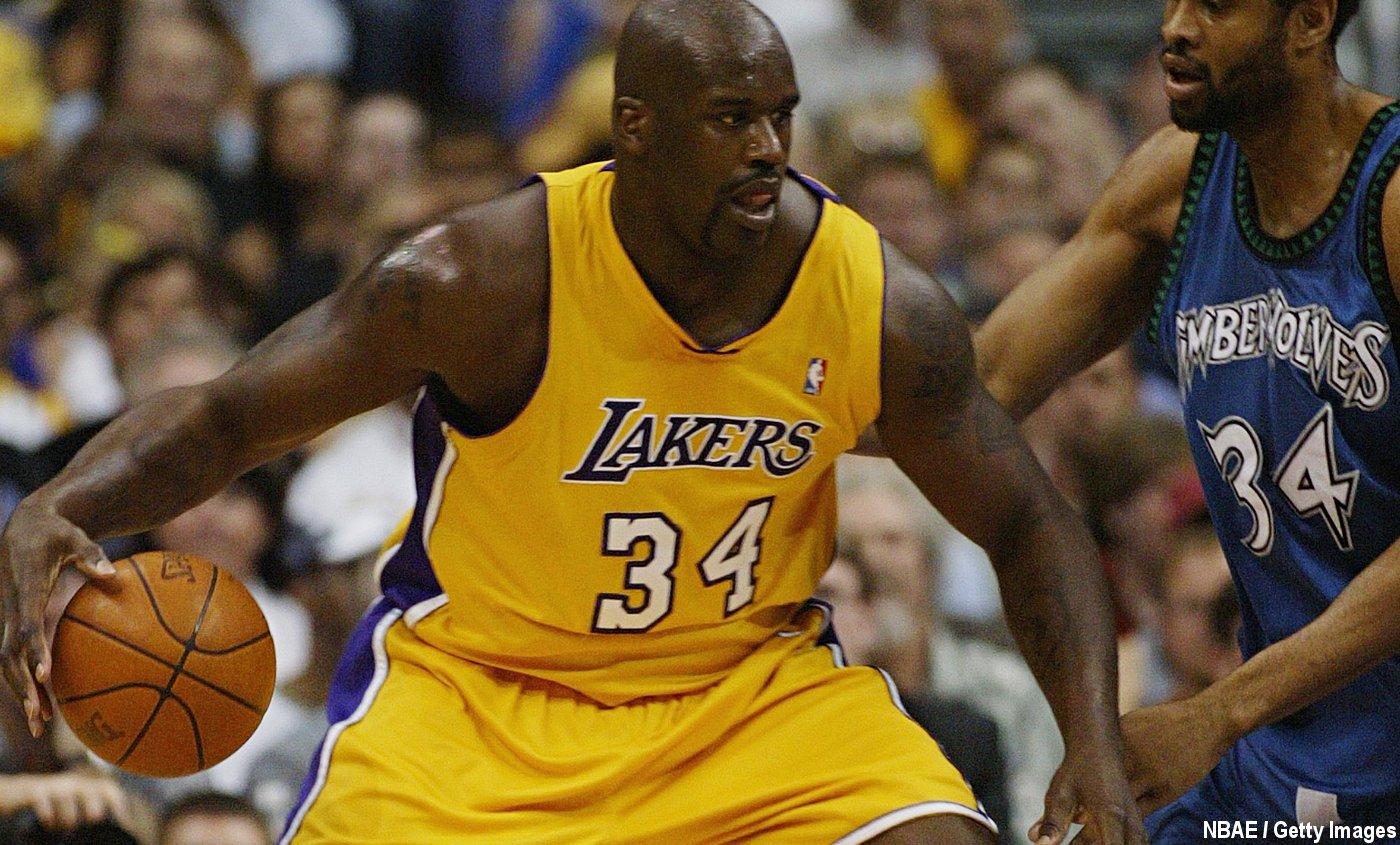 Shaquille O'Neal met un coup de pression aux Clippers