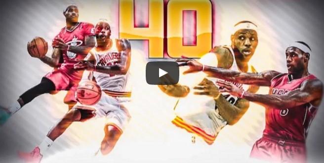 Top 40 : Les plus beaux caviars de LeBron James depuis 2010