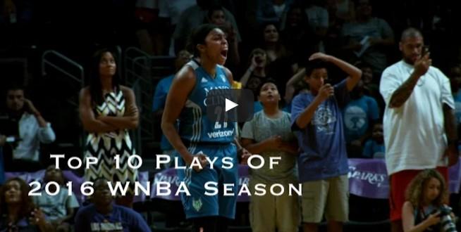 Top 10 : Le meilleur de la saison WNBA 2015-2016