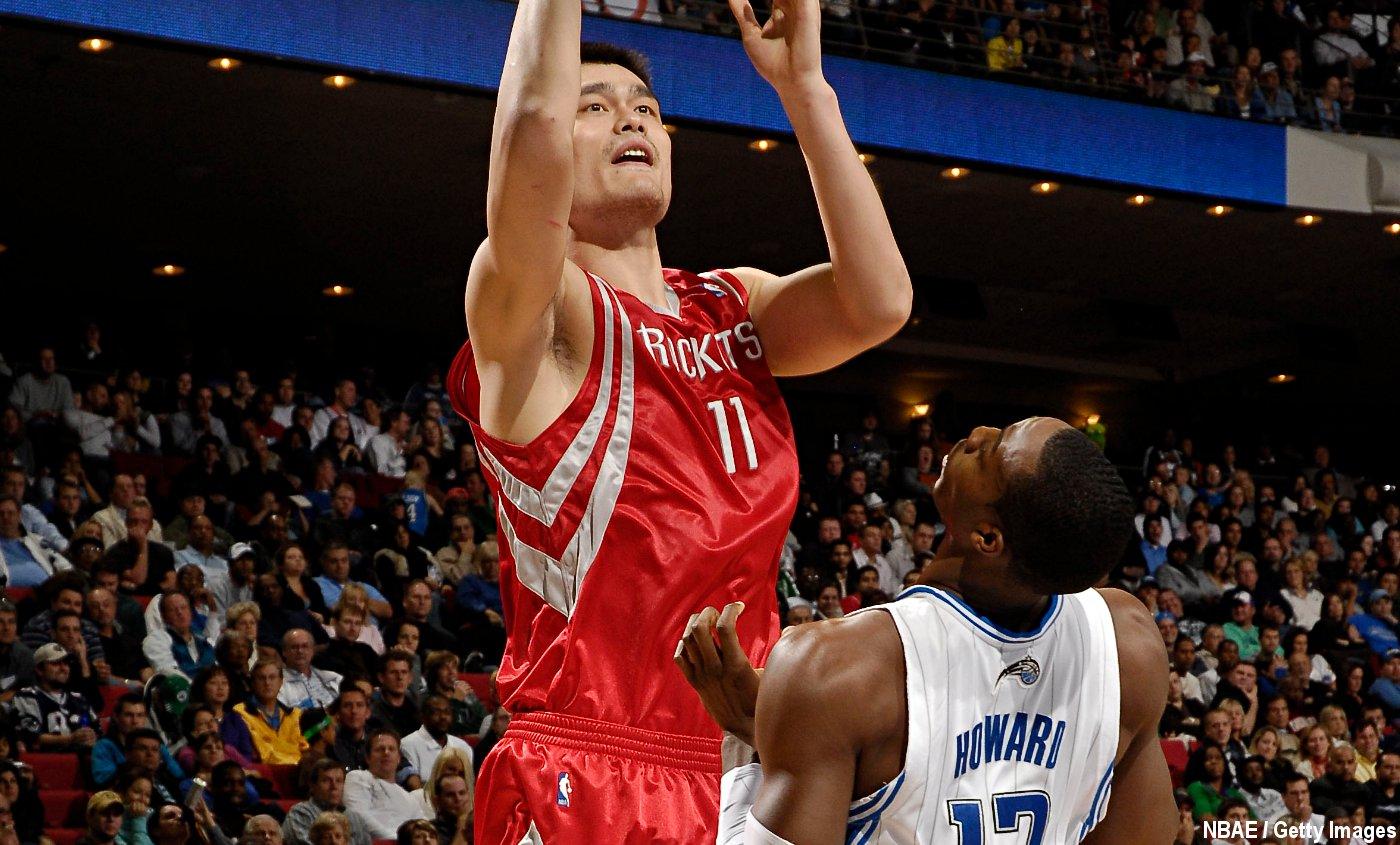 Yao Ming, un grand homme… pas que par la taille