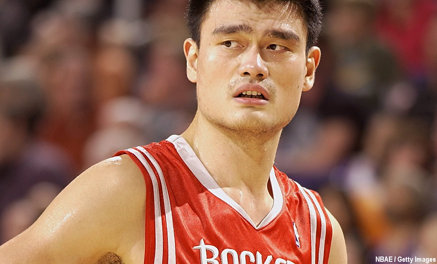 Hall Of Fame : Yao Ming enchaîne les punchlines dans son speech