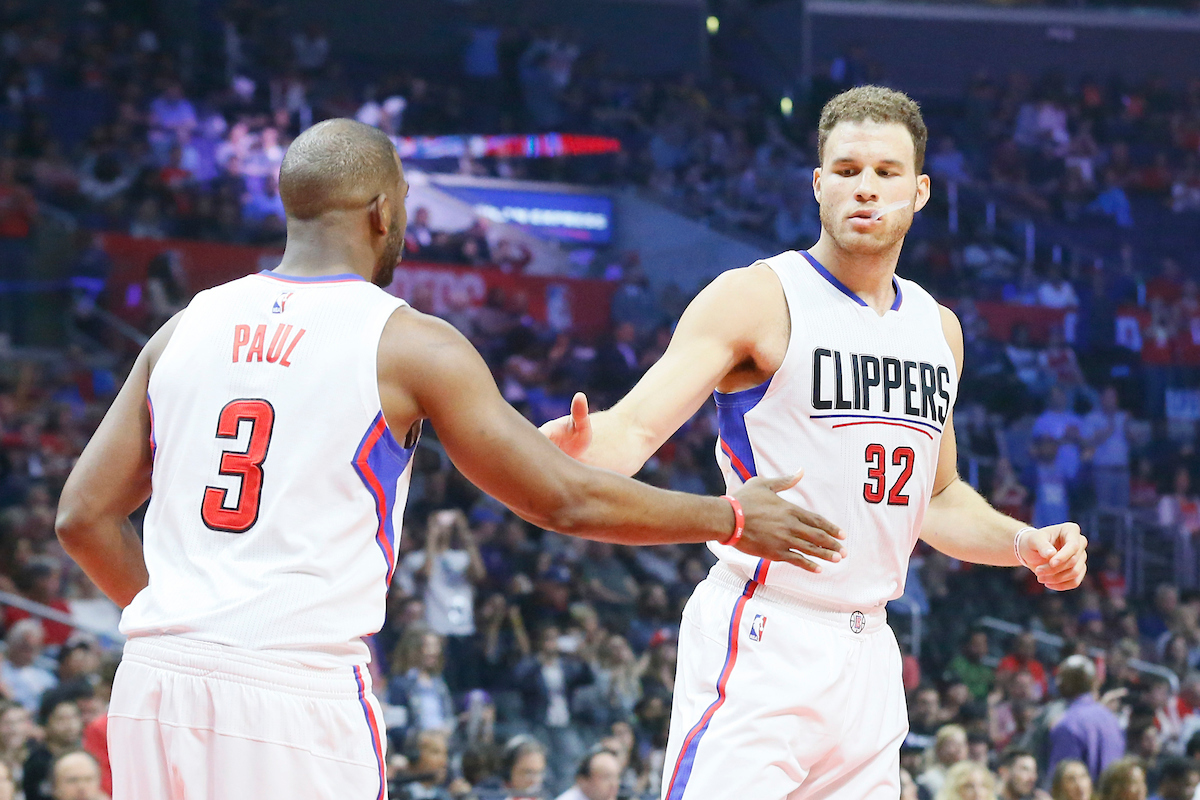 Chris Paul - Blake Griffin - Los Angeles Clippers