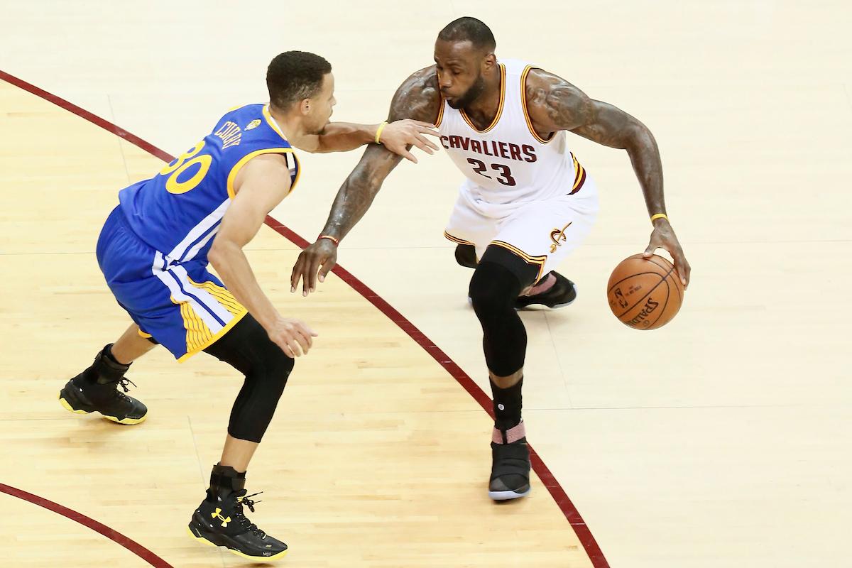 Souvenir : Le Top 10 des finales NBA 2015 & 2016 !