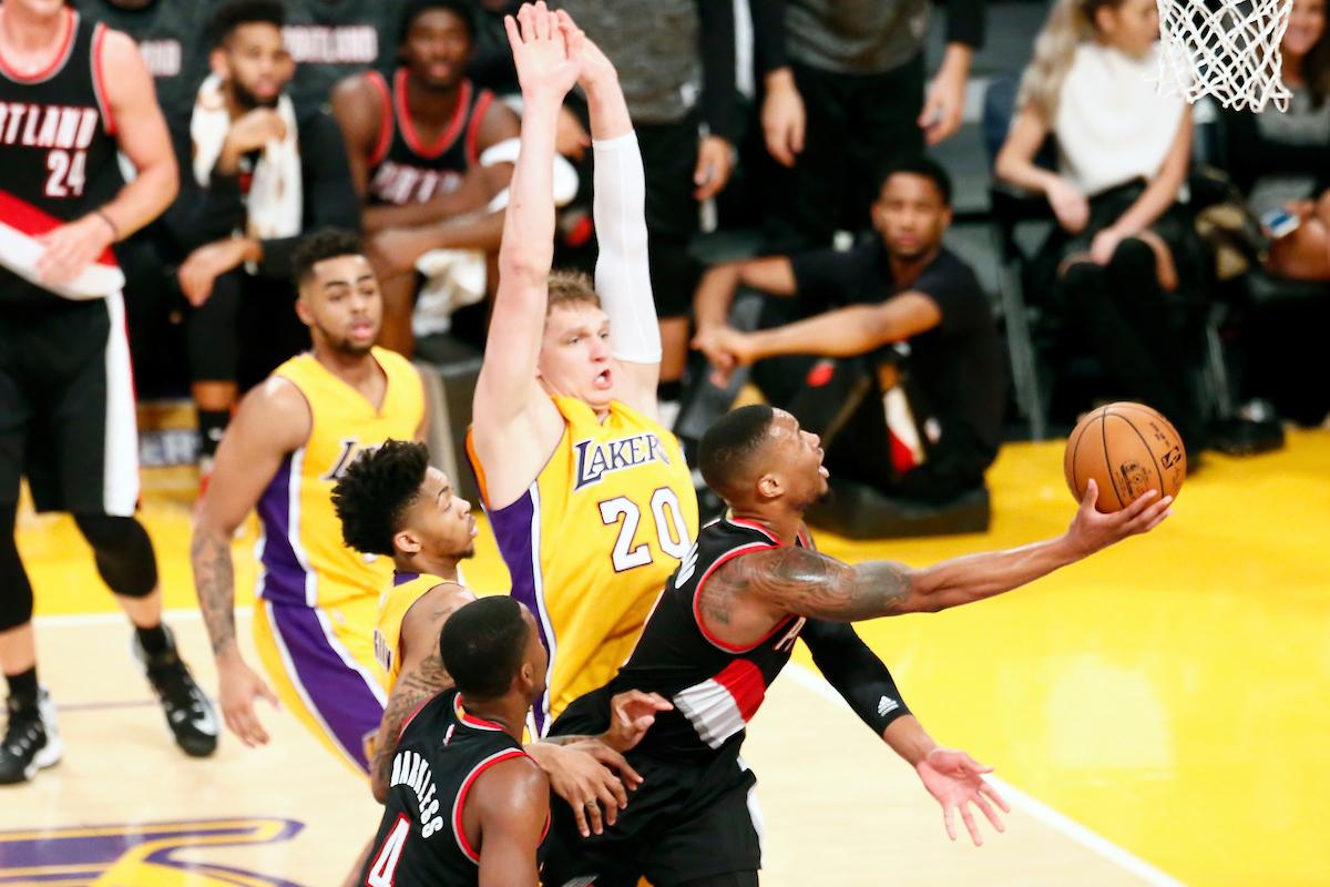Un Lillard chaud patate fait plier les Lakers