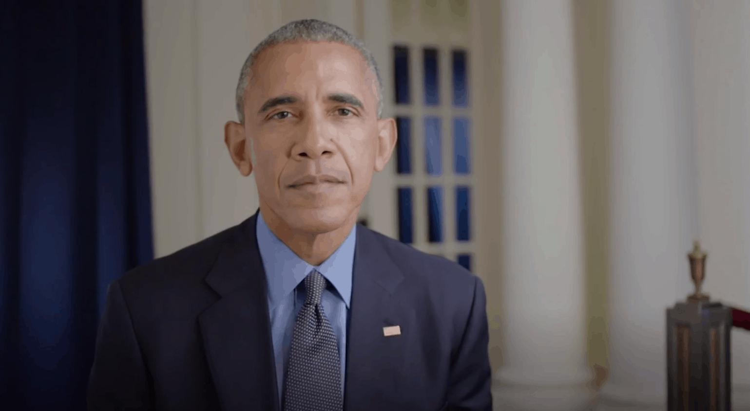 Barack Obama chambre les Warriors lors de la visite des Cavs