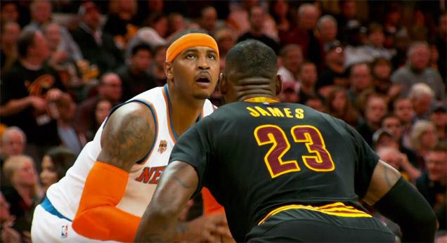 Carmelo Anthony vole au secours de LeBron et tacle sèchement Phil Jackson