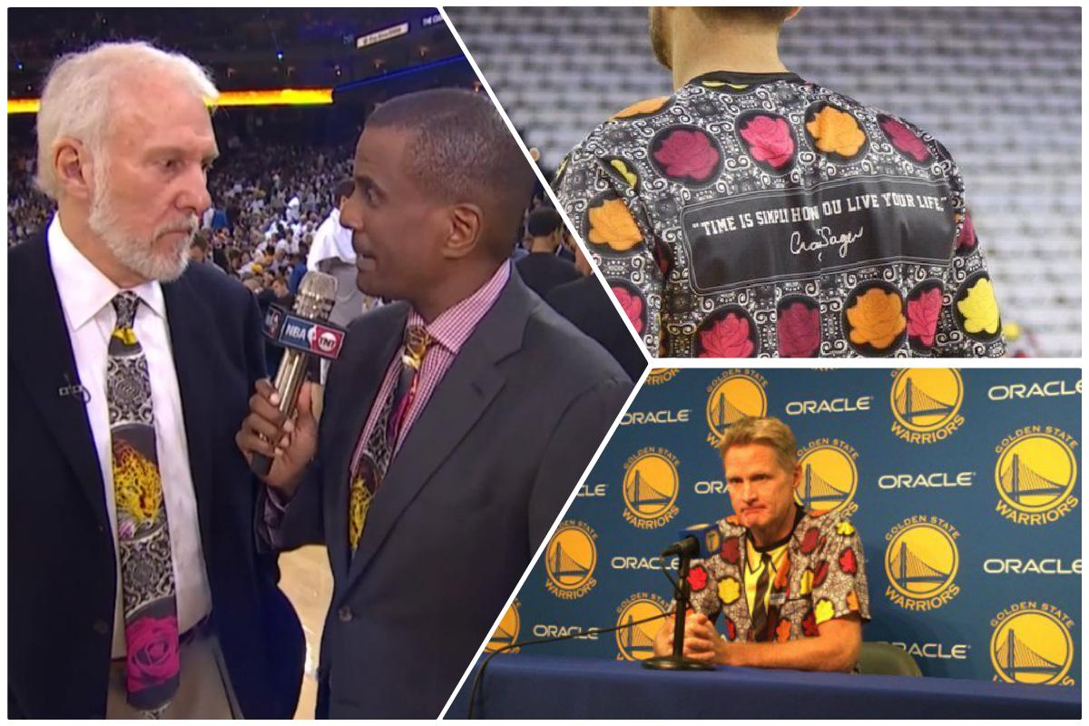 La NBA s'est bariolée pour Craig Sager, attention les yeux !