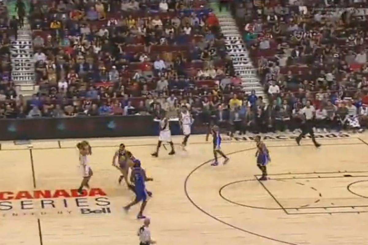 Cory Joseph met un shoot à la Curry contre les Warriors