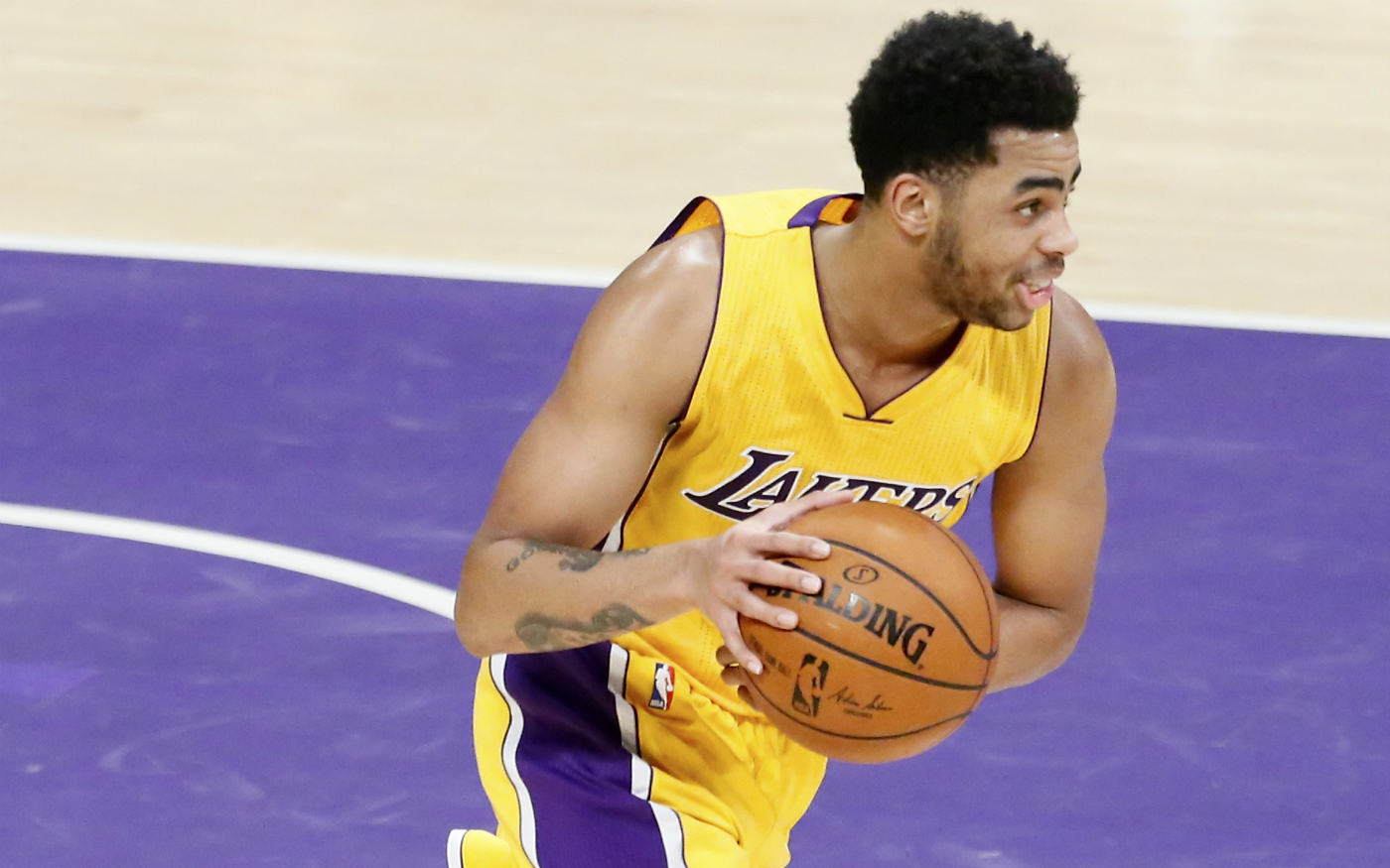 D'Angelo Russell n'a pas l'intention de forcer son retour